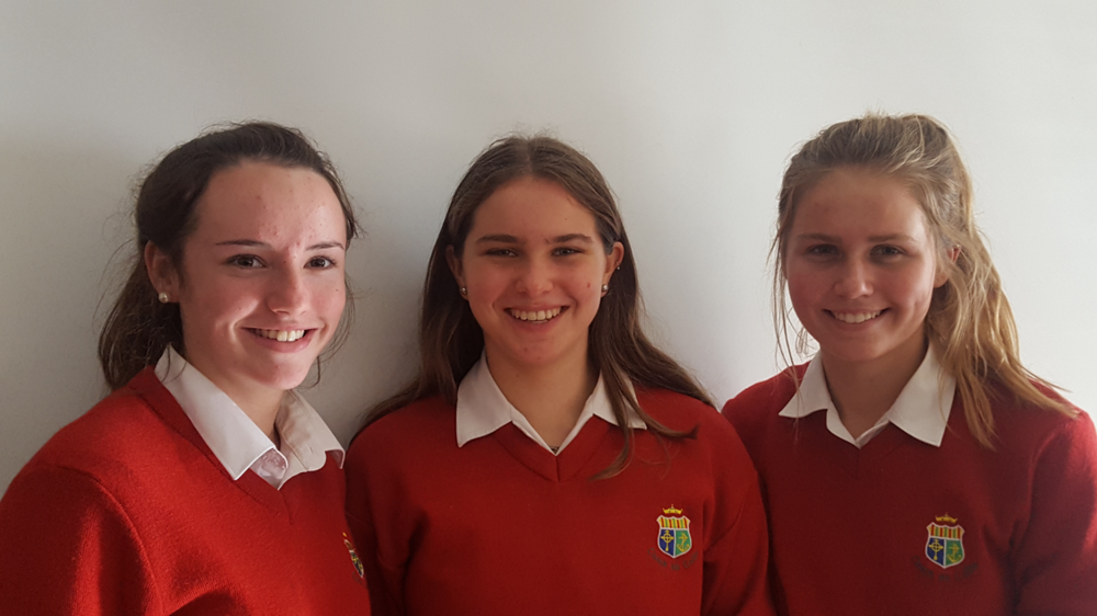 """Hero Vs Classroom Bully"" Annie Condon, Katelyn Dineen and Anna Flynn . This is the second time that this group has made it to the final."