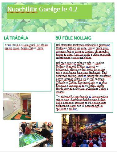Gaeilge newsletter.JPG