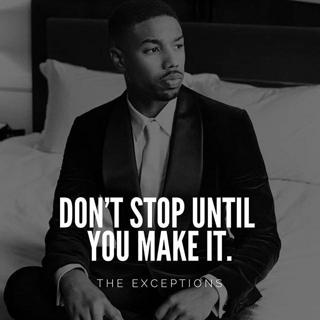 Keep pushing. 👊