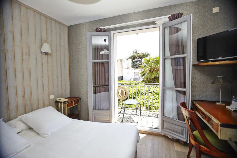 Chambre standard n° 4 | Hôtel | le vieux gréement | ile de ré