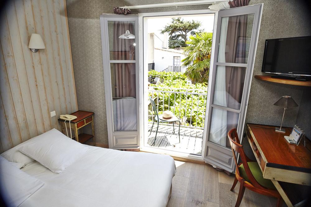 Photo balcon Chambre Standard n°4 hôtel le vieux gréement | ile de Ré