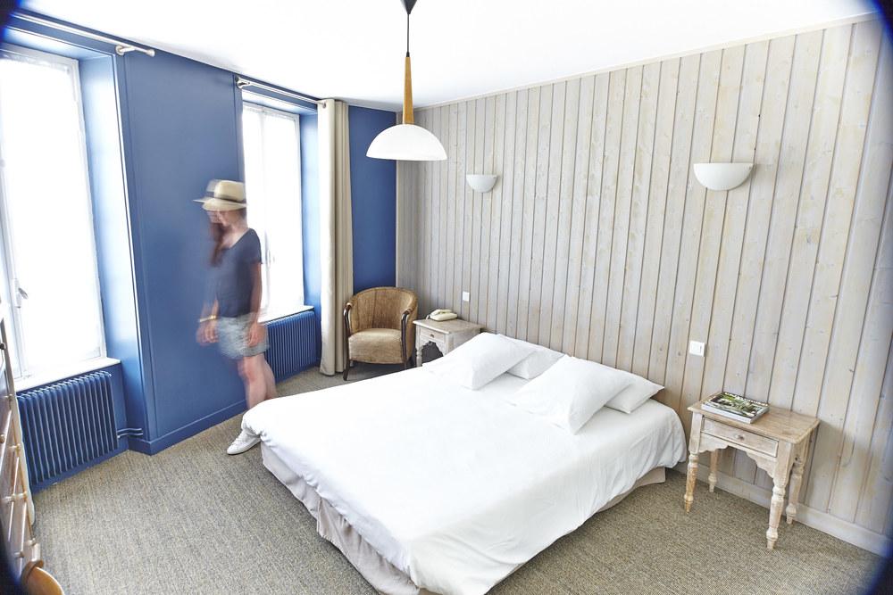 Photo Chambre Supérieure n°2 hôtel le vieux gréement | ile de Ré