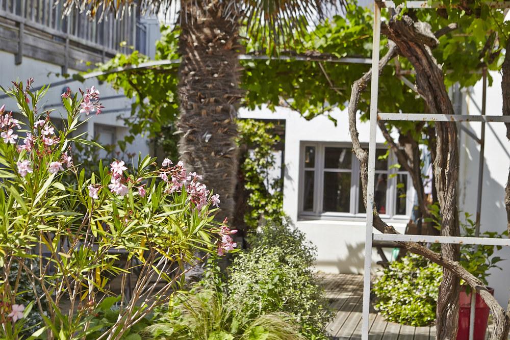 Photo Patio hôtel le vieux gréement | ile de Ré