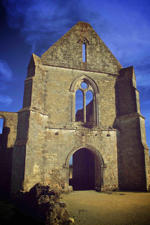 Abbaye des châteliers La flottes en ré