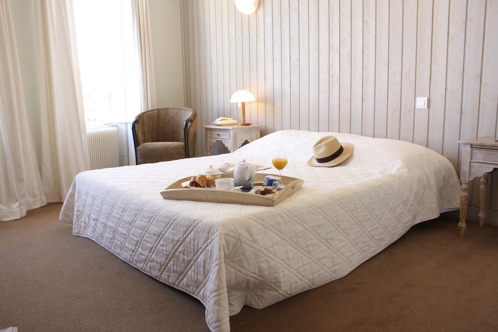 Chambre Supérieure Hôtel *** de Charme Le Vieux Gréement, La Couarde sur Mer, ile de Ré