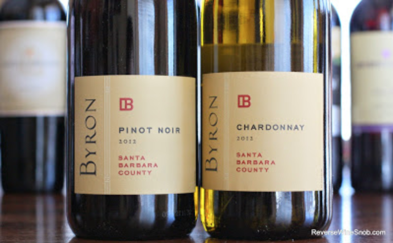 Santa Barbara Wine Duo - From long time Santa Barbara producer Byron, these great food wines (a Pinot Noir and Chardonnay) are unique in their large format 3 liter size. They are hard to find!Donor: Applejack Liquors & TAB Board of Directors