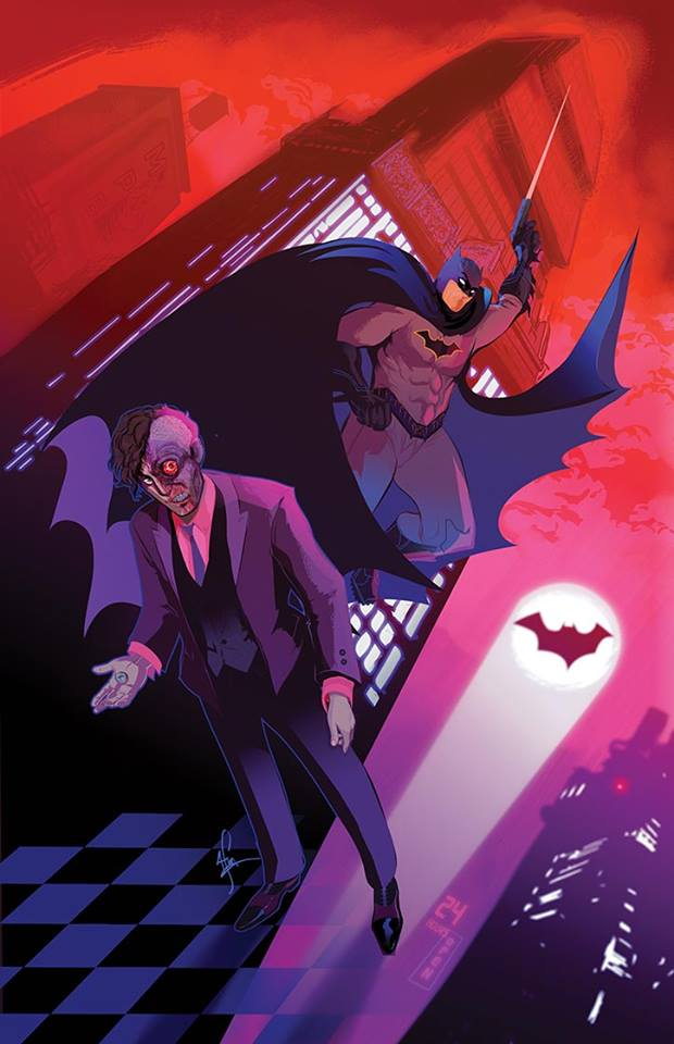 Available on August 10th, our store exclusive cover for ALL STAR BATMAN #1 variant cover by Afua Richardson.  Just click on the image above to purchase.
