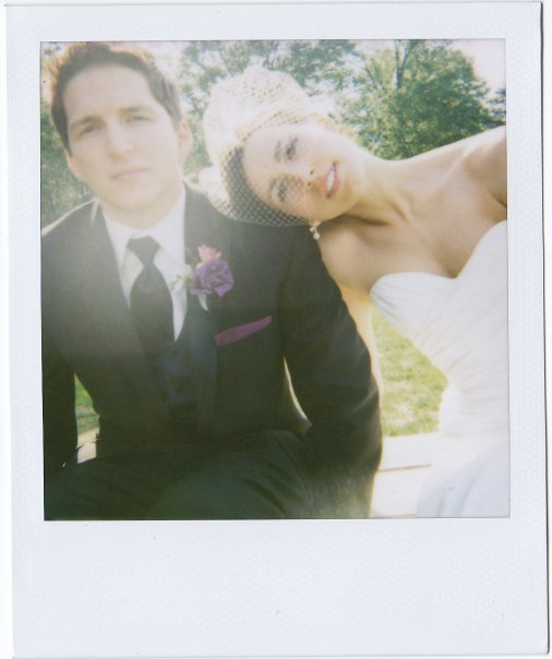 Our wedding day. Just a couple of kids