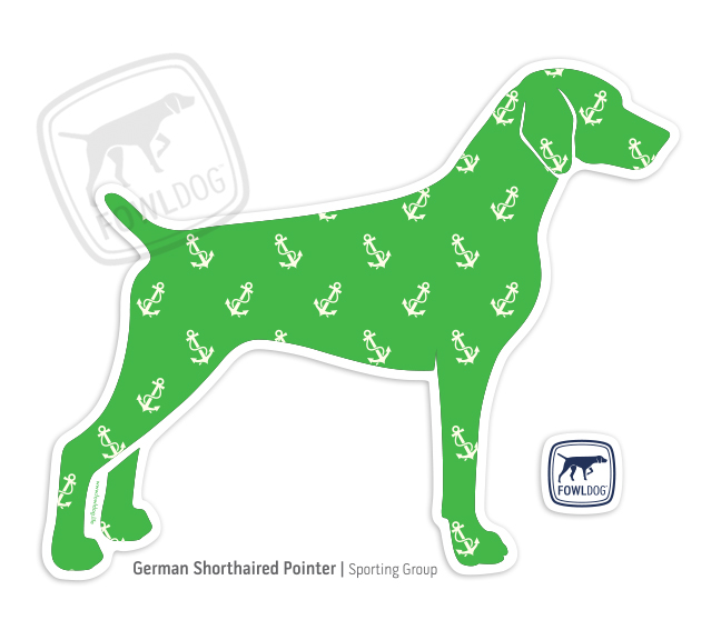 Fowl Dog German Shorthaired Pointer Decal