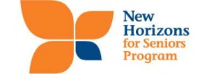The Federal Government's New Horizons for Seniors Program support community-based projects through funding.