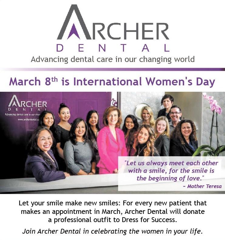 Archer Dental Intl Women's Day Image
