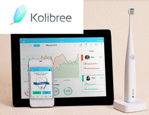 kolibree, smart toothbrush, connected bathroom