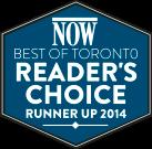 Archer Dental Best Dentist in Toronto Runner-Up 2014