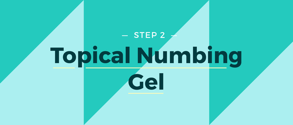 Step 2 Topical Numbing Gel