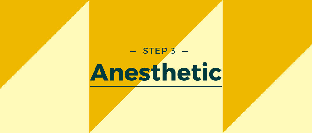 Step 3 Anesthetic