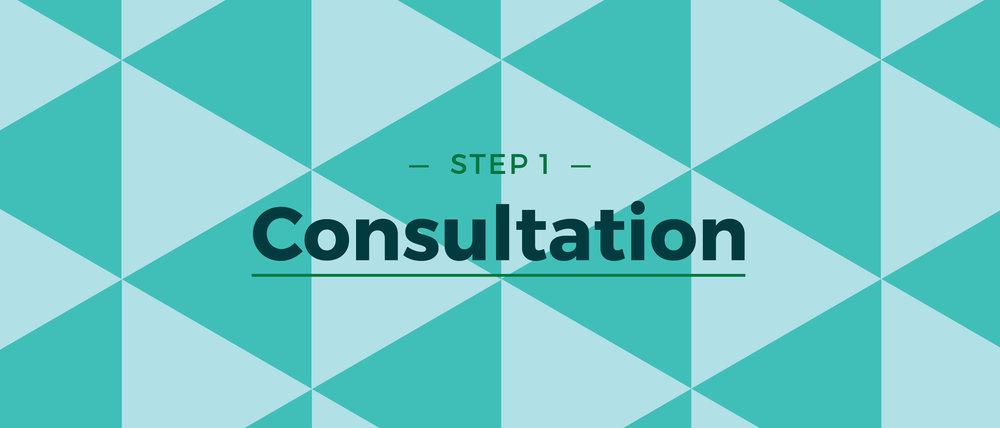 Step 1 Consultation