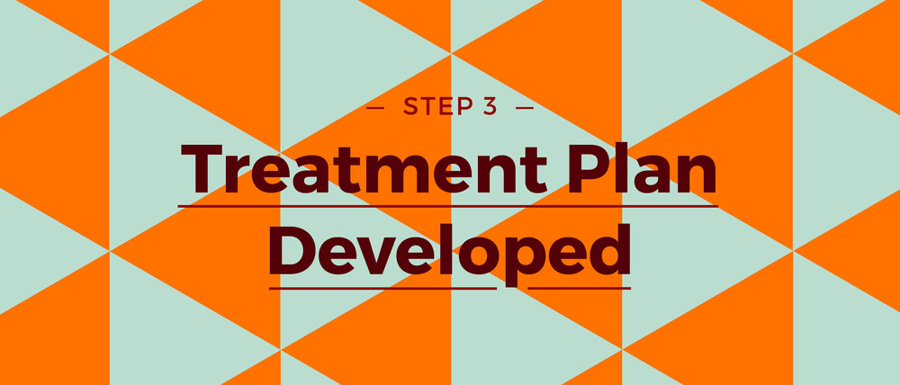 Step 3 Treatment Plan Developed