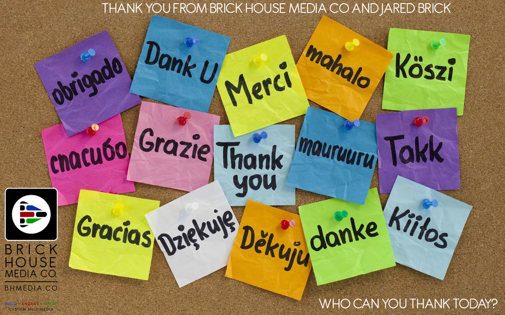 BHMC thanks