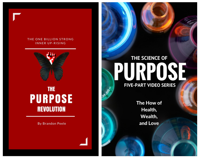 The upcoming book, The Purpose Revolution and The Science of Purpose, video series coming in 2016!