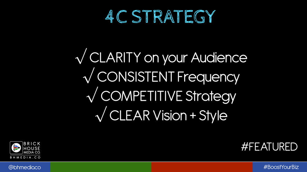 4C Strategy for social media sharing and syndication