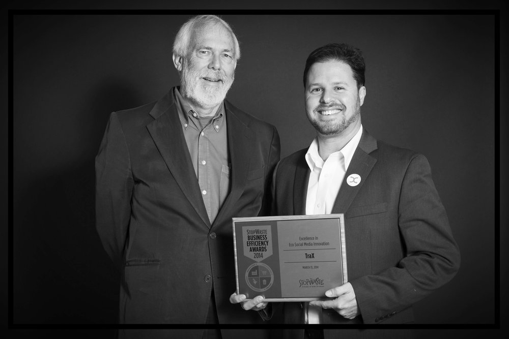"Awarded ""Innovation in Business Efficiency + Social Media"" with Mayor Tom Bates of Berkeley, CA"