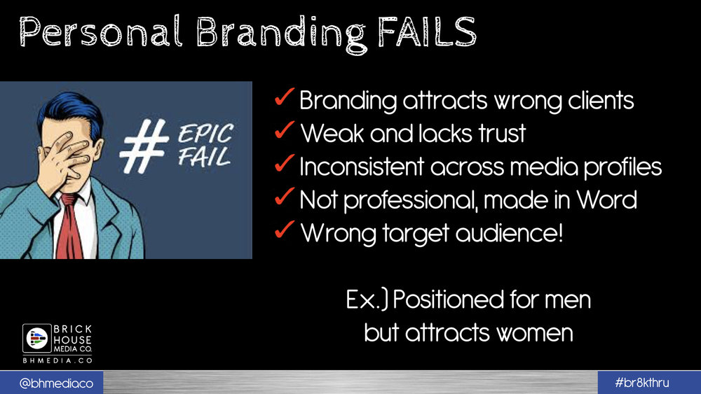 PERSONAL BRANDING MYTHS TO AVOID