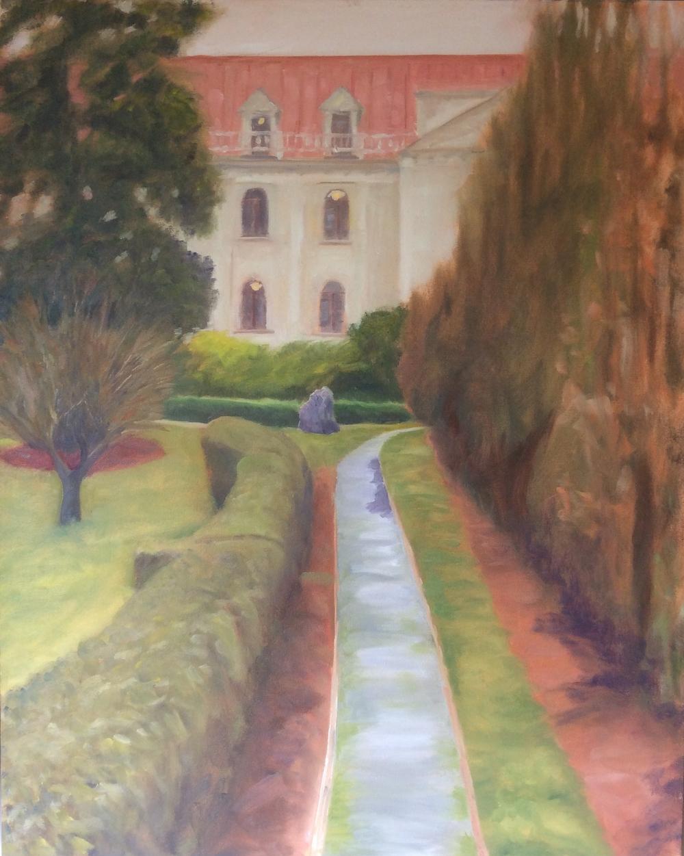 St. Ann's Academy   Oil 30 x 24