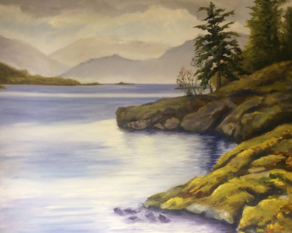 Spirit Bay   Oil 24 x 30