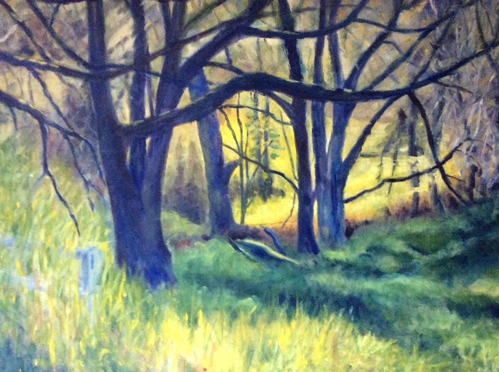 Rithet's Bog   Oil 24 x 30