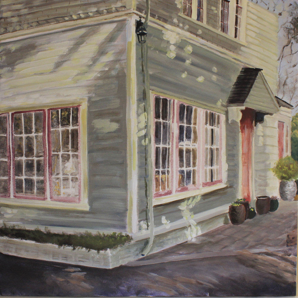 Coach House Cloned   Acrylic 24 x 24