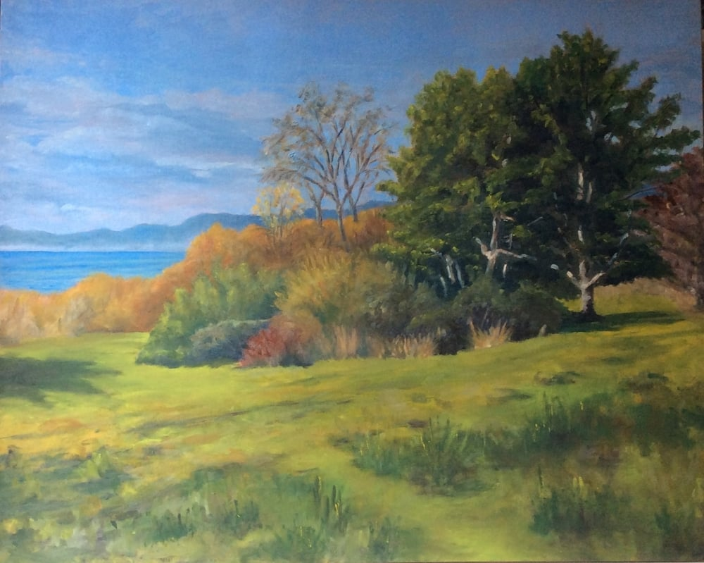 Sunny November   Oil 24 x 30
