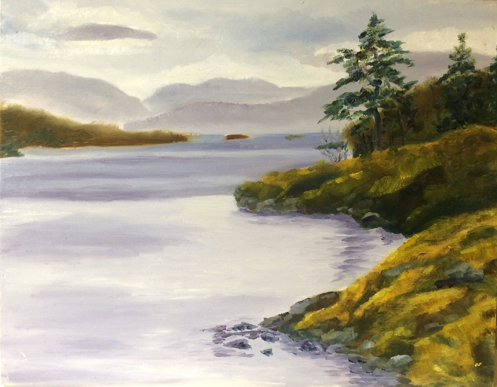 Spirit Bay   Oil 11 x 14