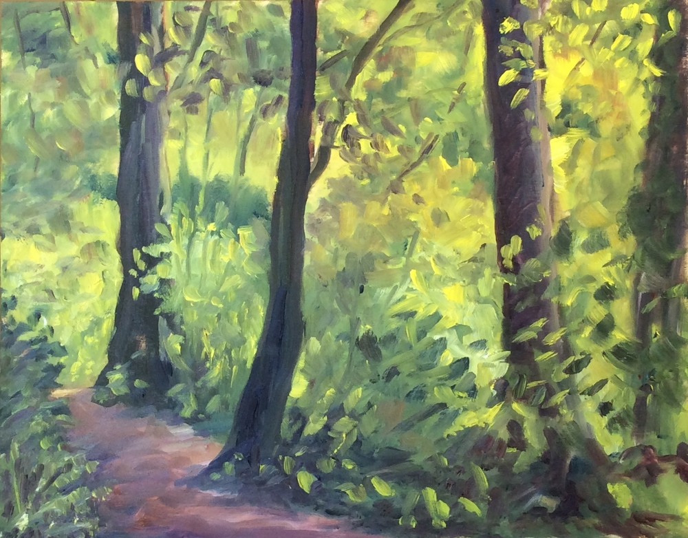 Forest Light - Mystic Vale   Oil 11 x 14