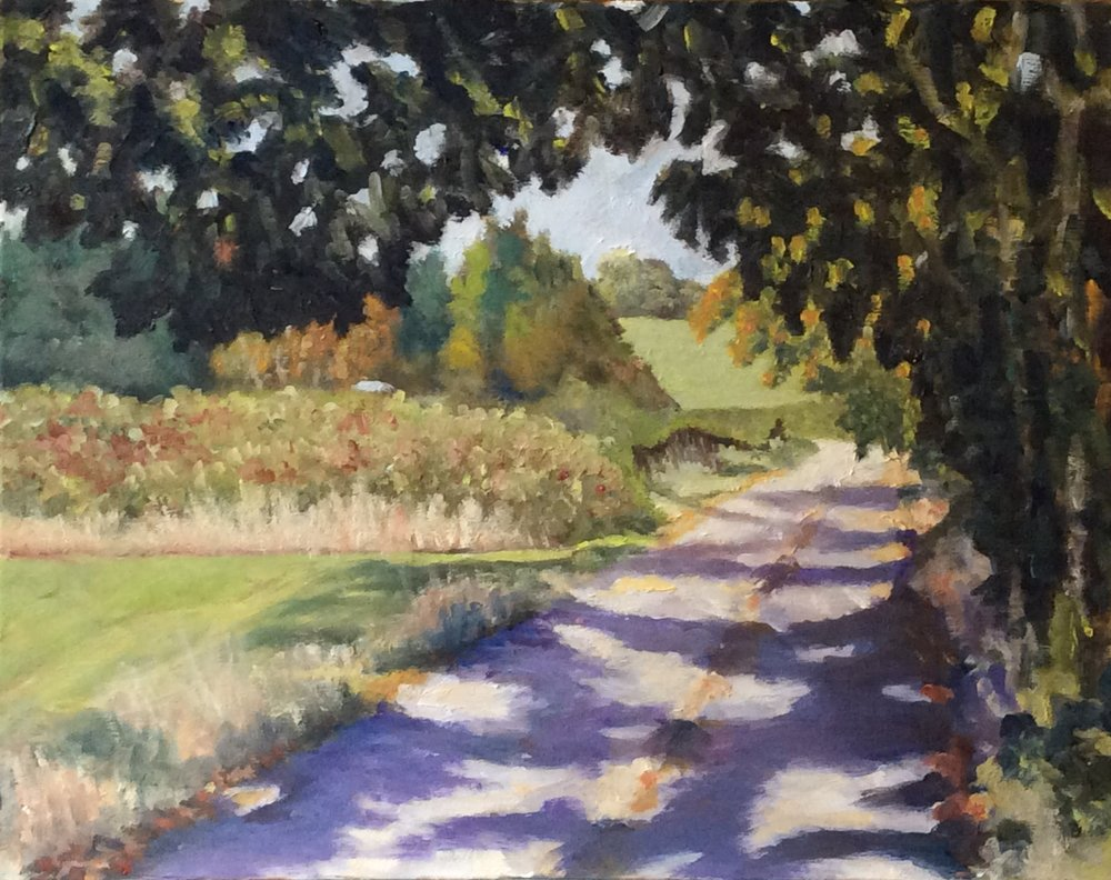 Country Road   Oil 11 x 14