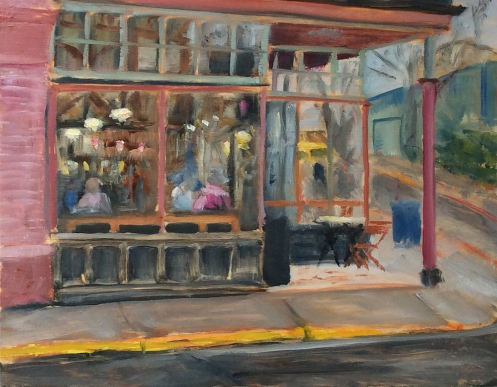 Fernwood Cafe   Oil 11 x 14