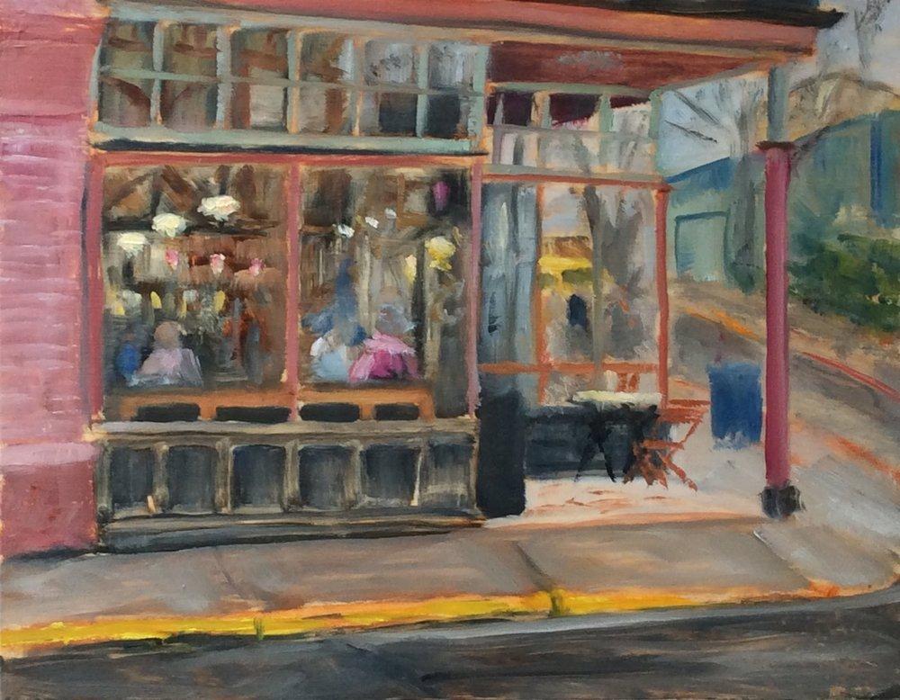 Fernwood Cafe   Oil 11 x 14
