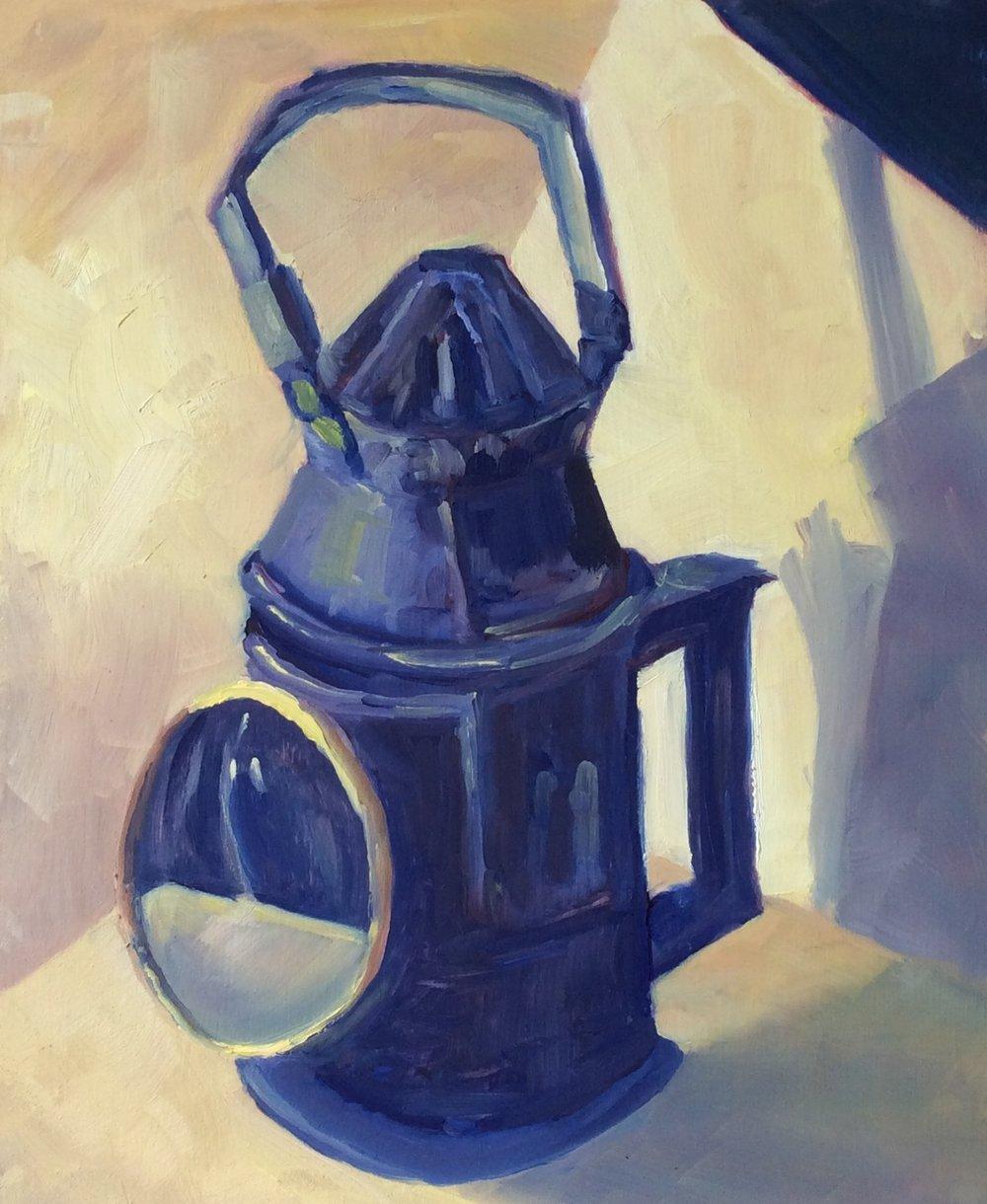 Railway Signal Lantern # 4   Oil 14 x 11