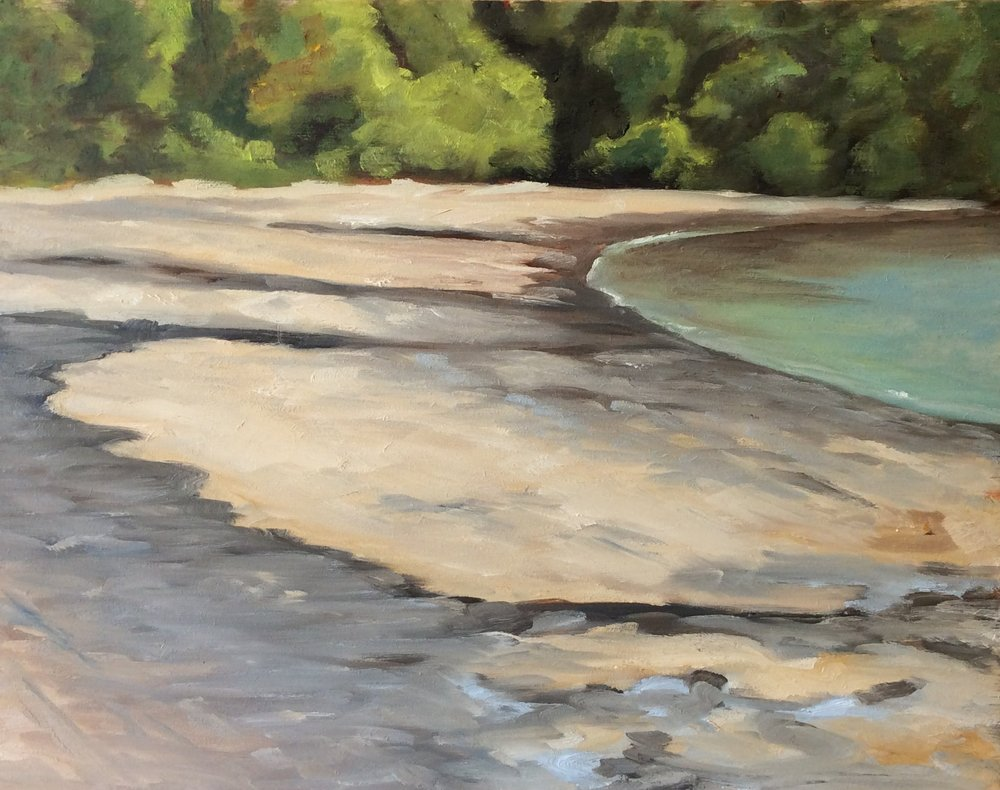 Gyro Beach    Oil 11 x 14