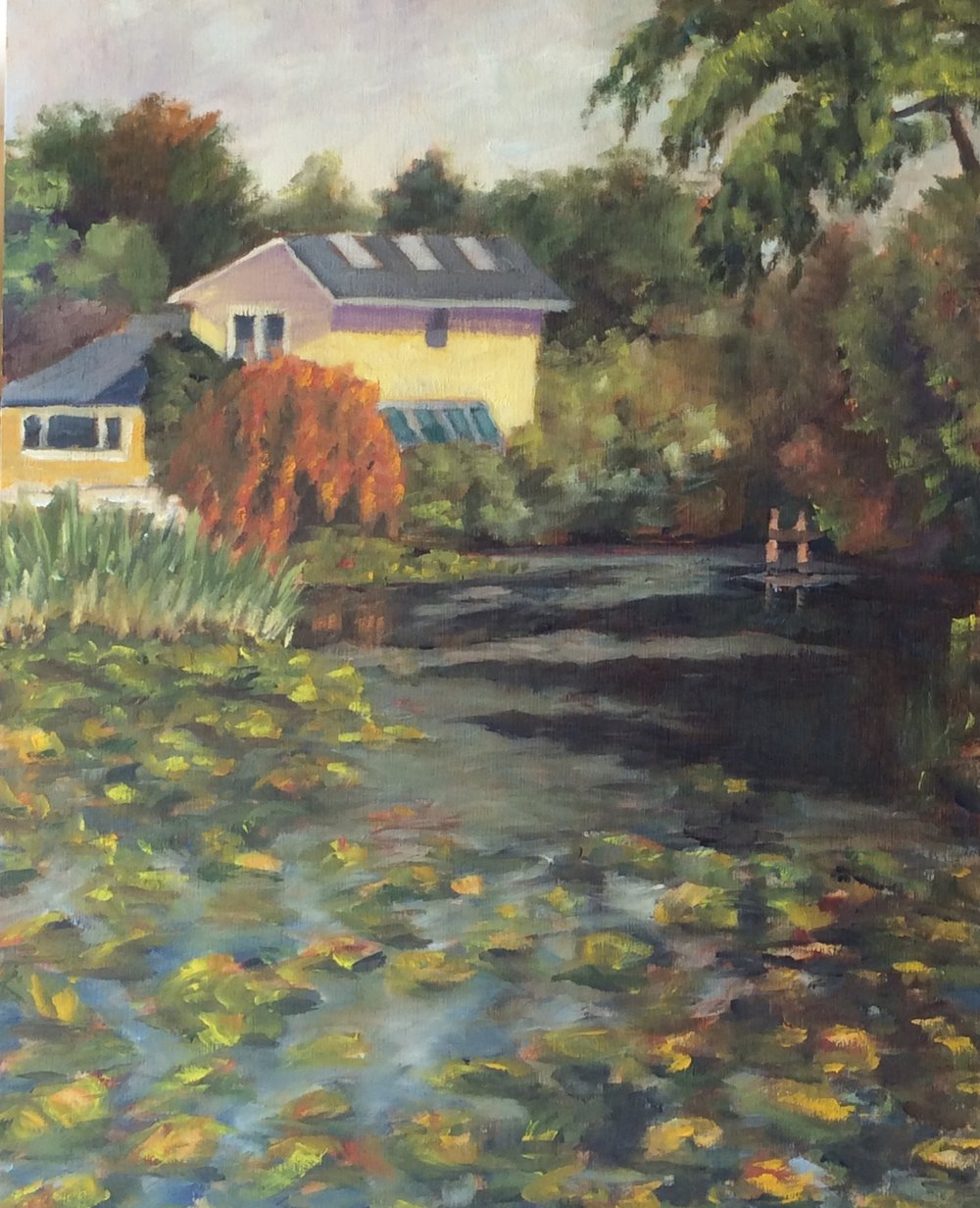 Mystic Pond   Oil 14 x 11