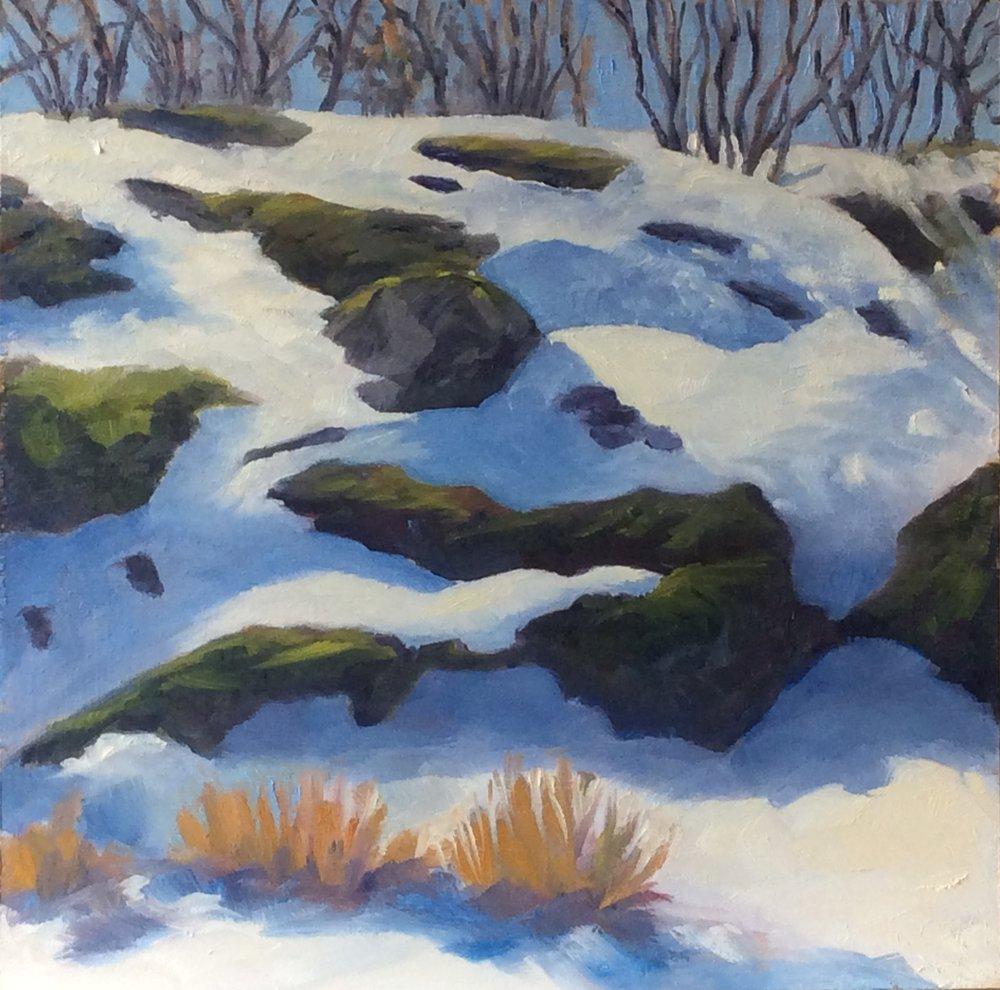 A Winter's Day  Oil 12 x 12