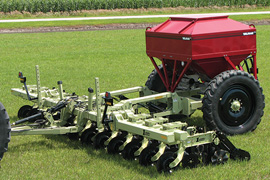 VAlmar ST-8 Strip Till Granular fertilizer applicator