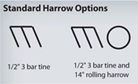 Standard Harrow Options