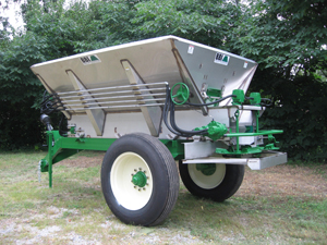 Salford BBI Liberty Mechanical Pull-Type Fertilizer Spreader