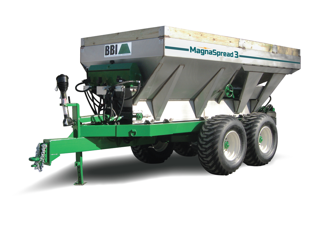 BBI MagnaSpread3 Multi-Bin Fertilizer Spreader Dry Applicator