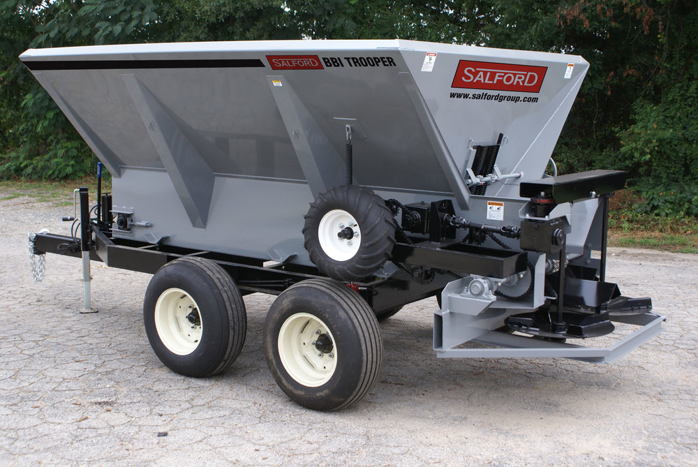 Salford BBI Trooper Fertilizer Spreader Lime Spreader