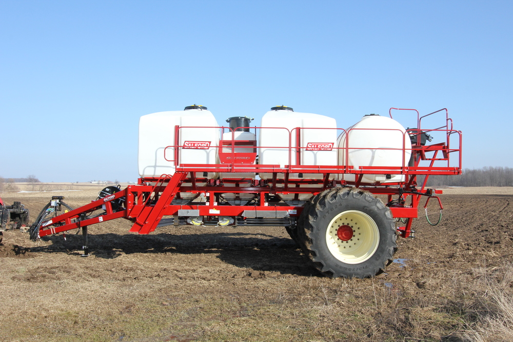 AC3725 TRIPLE-TANK AIR CART