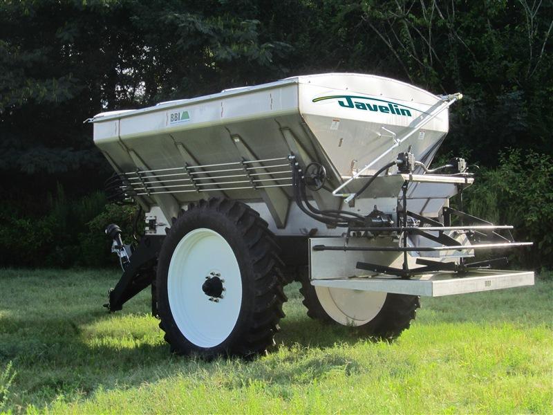 Salford BBI Javelin Fertilizer Spreader - Engineered for 120 swath of Urea