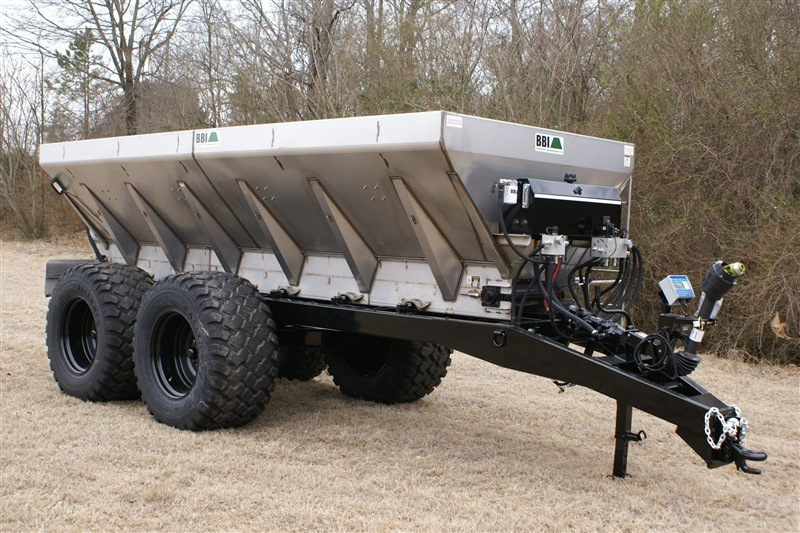 Salford BBI MagnaSpread Ultra Fertilizer Spreader - Exclusive Continuous Duty Hydraulics