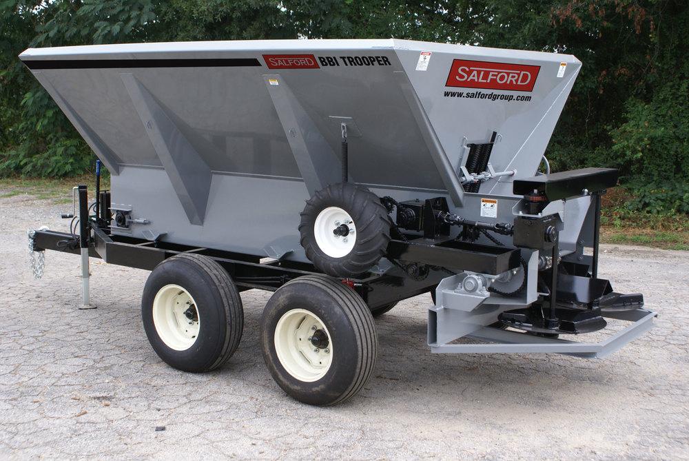 BBI Trooper Mechanical Fertilizer Spreader