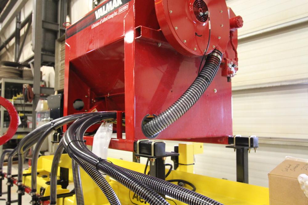 Valmar 55 series implement-mount hoses